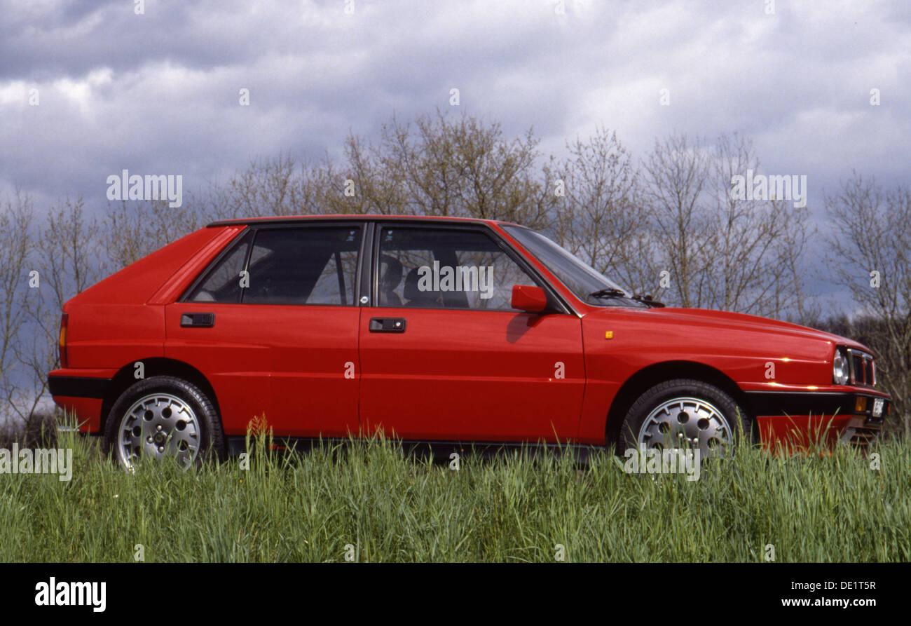 Lancia delta hf stock photos lancia delta hf stock images alamy lancia delta integrale hf sports car 4x4 4wd 1990s stock image vanachro Choice Image