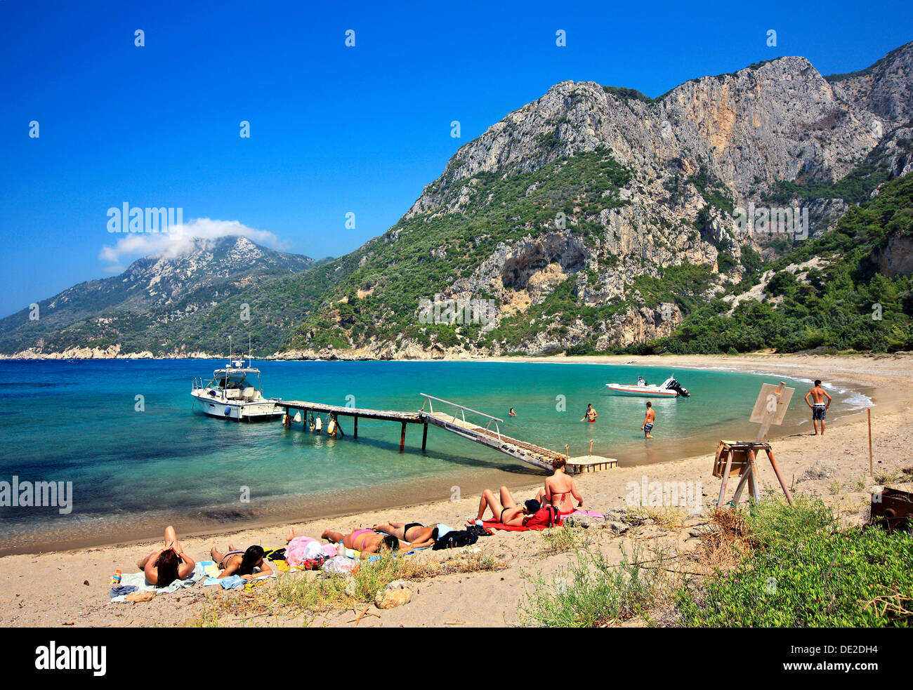 Megalo Seitani Beach Probably The Most Beautiful Beach Of