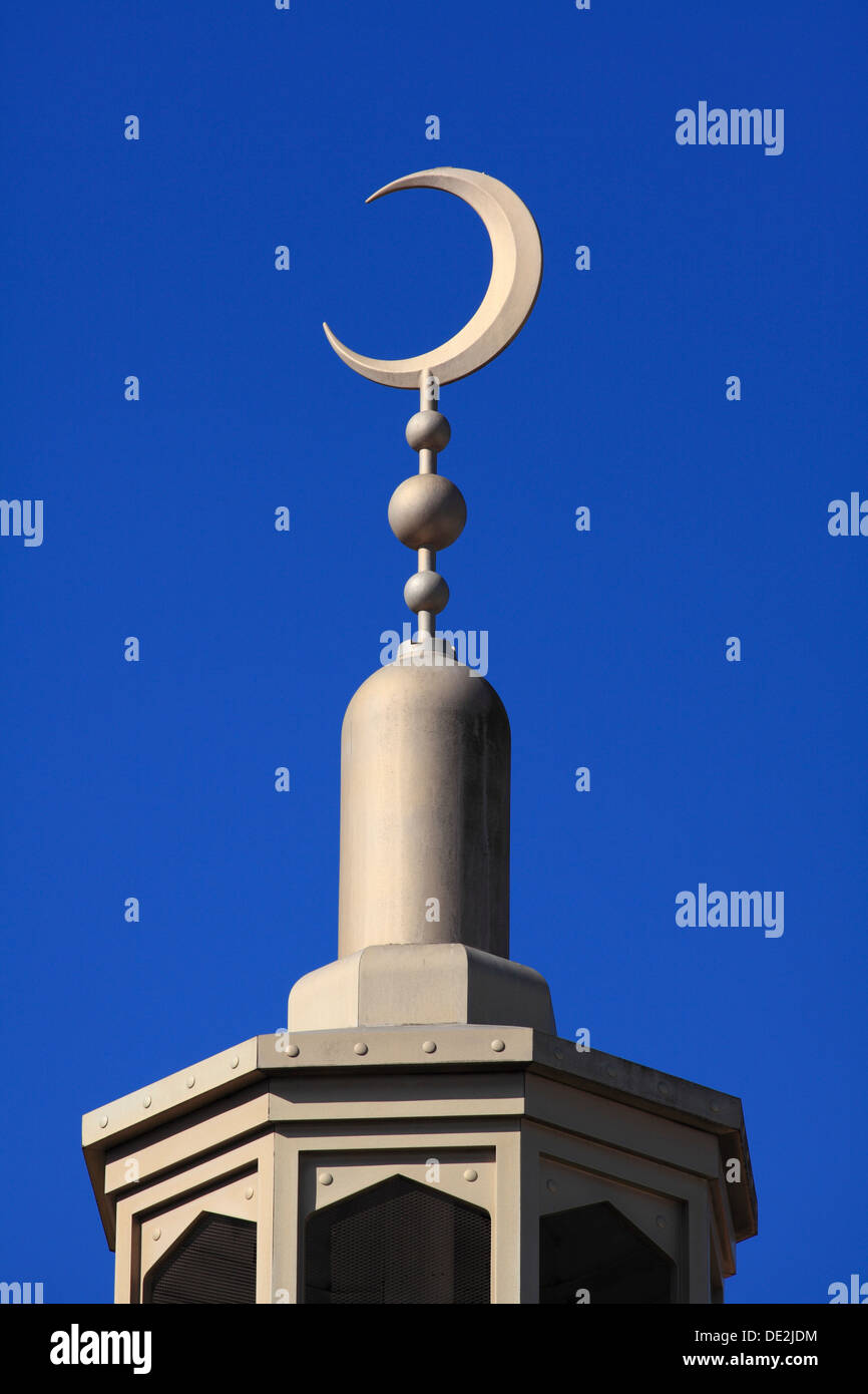 Crescent moon symbol on top of the east london mosque whitechapel crescent moon symbol on top of the east london mosque whitechapel road east london biocorpaavc Gallery