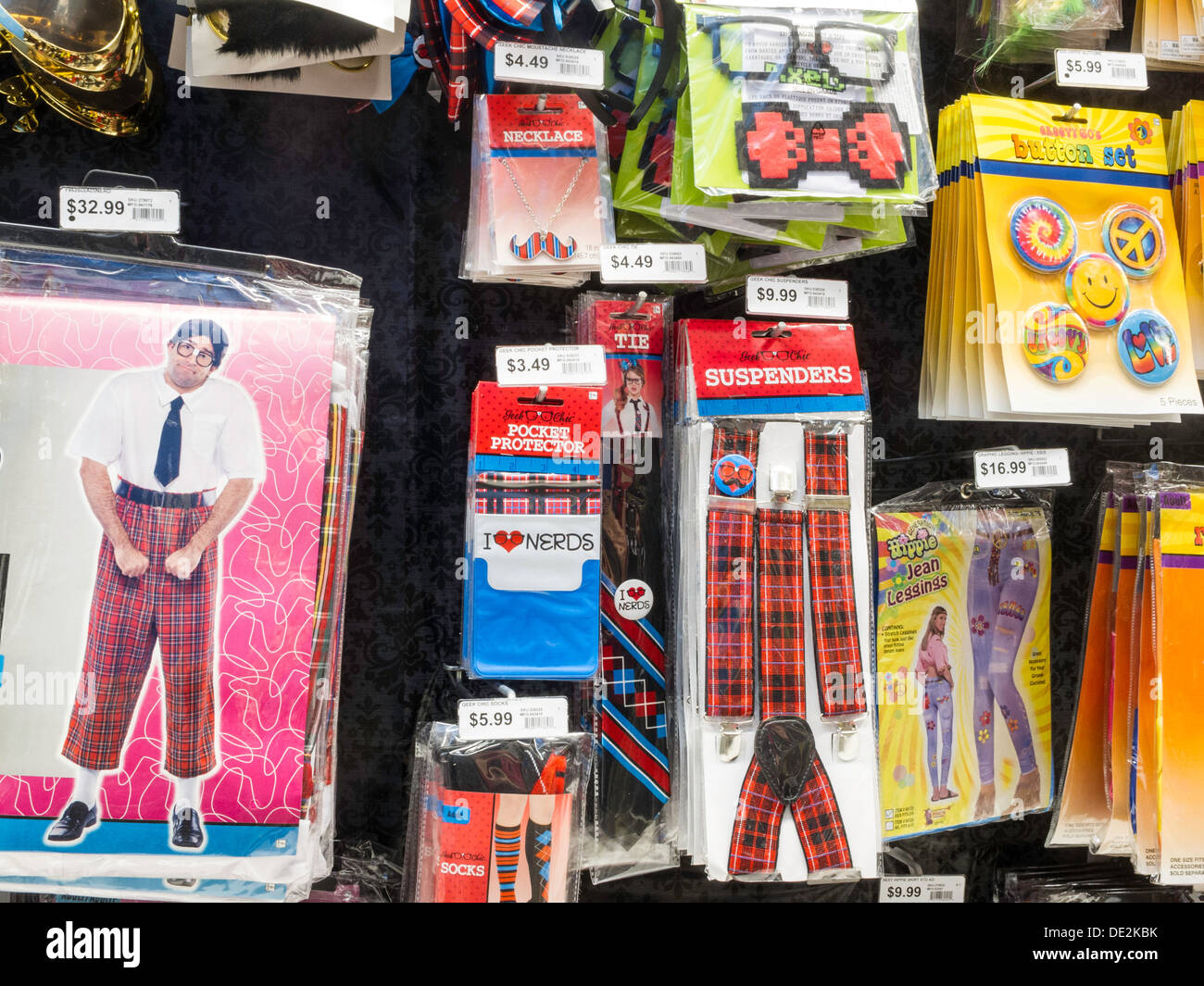 Party City Halloween Store Display, NYC Stock Photo, Royalty Free ...