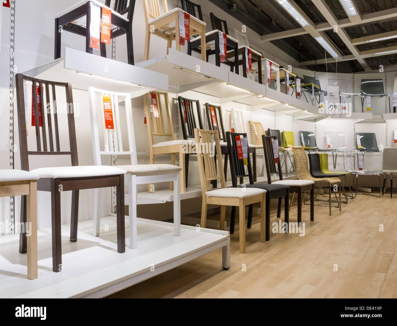 IKEA Swedish Retail Store Interior, Stoughton, NA