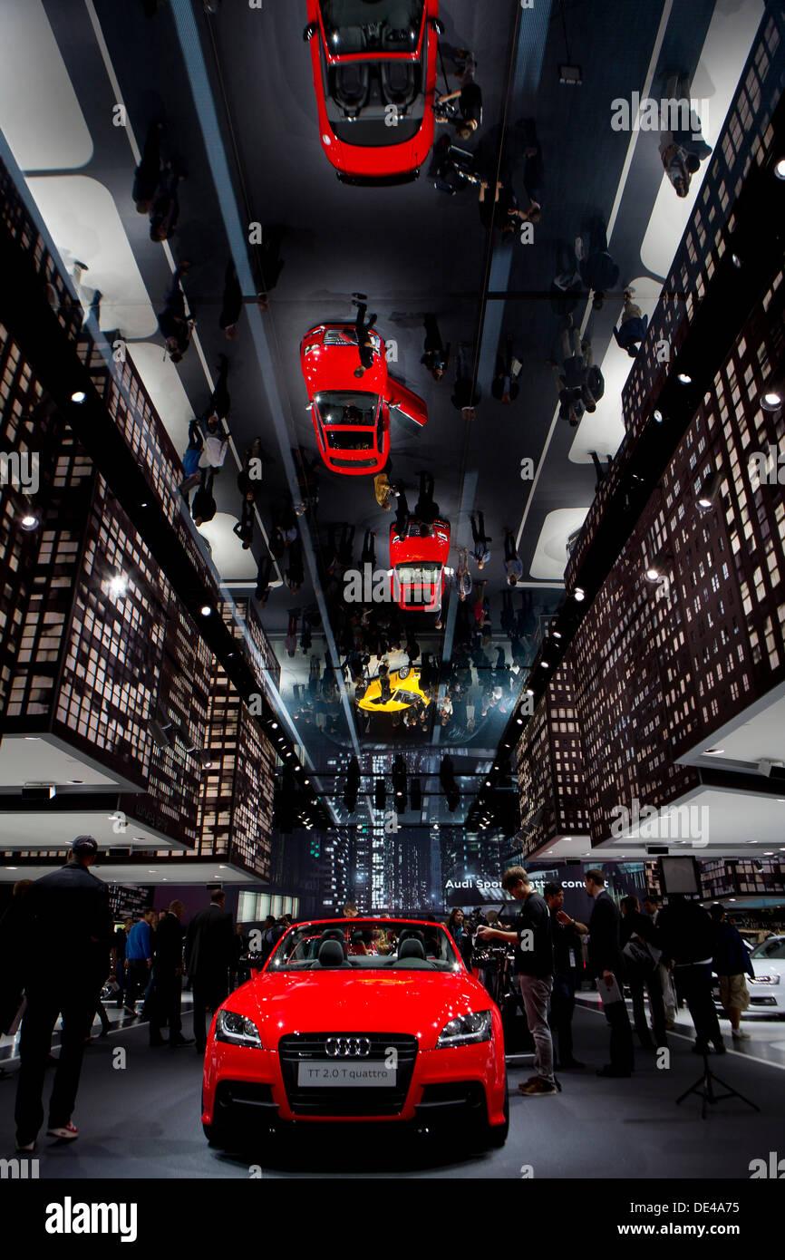 Frankfurt Germany Th Sep Carmaker Audi During Th IAA - Audi car maker