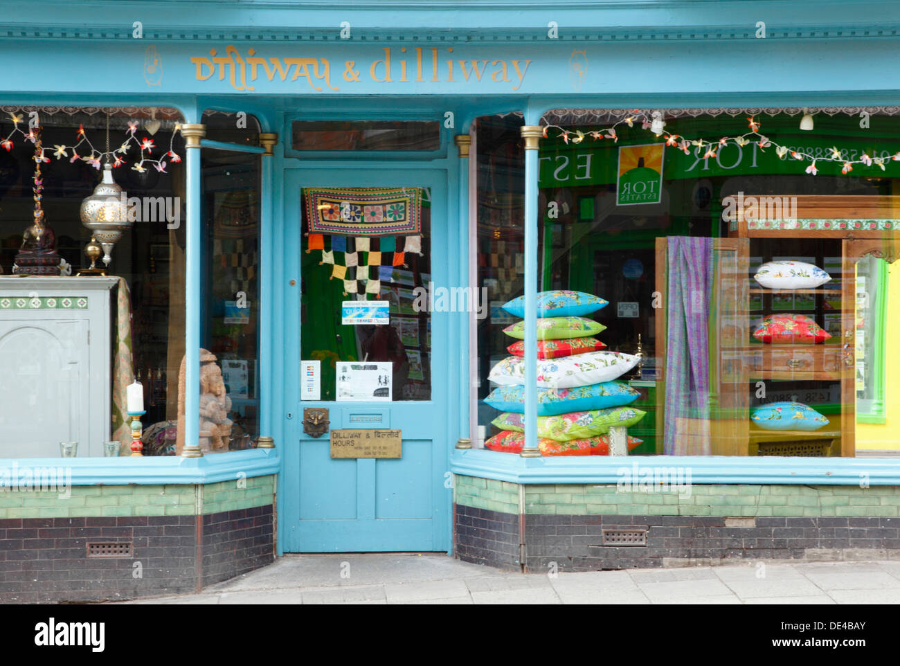 Quirky Shop in Glastonbury. Somerset. England. UK