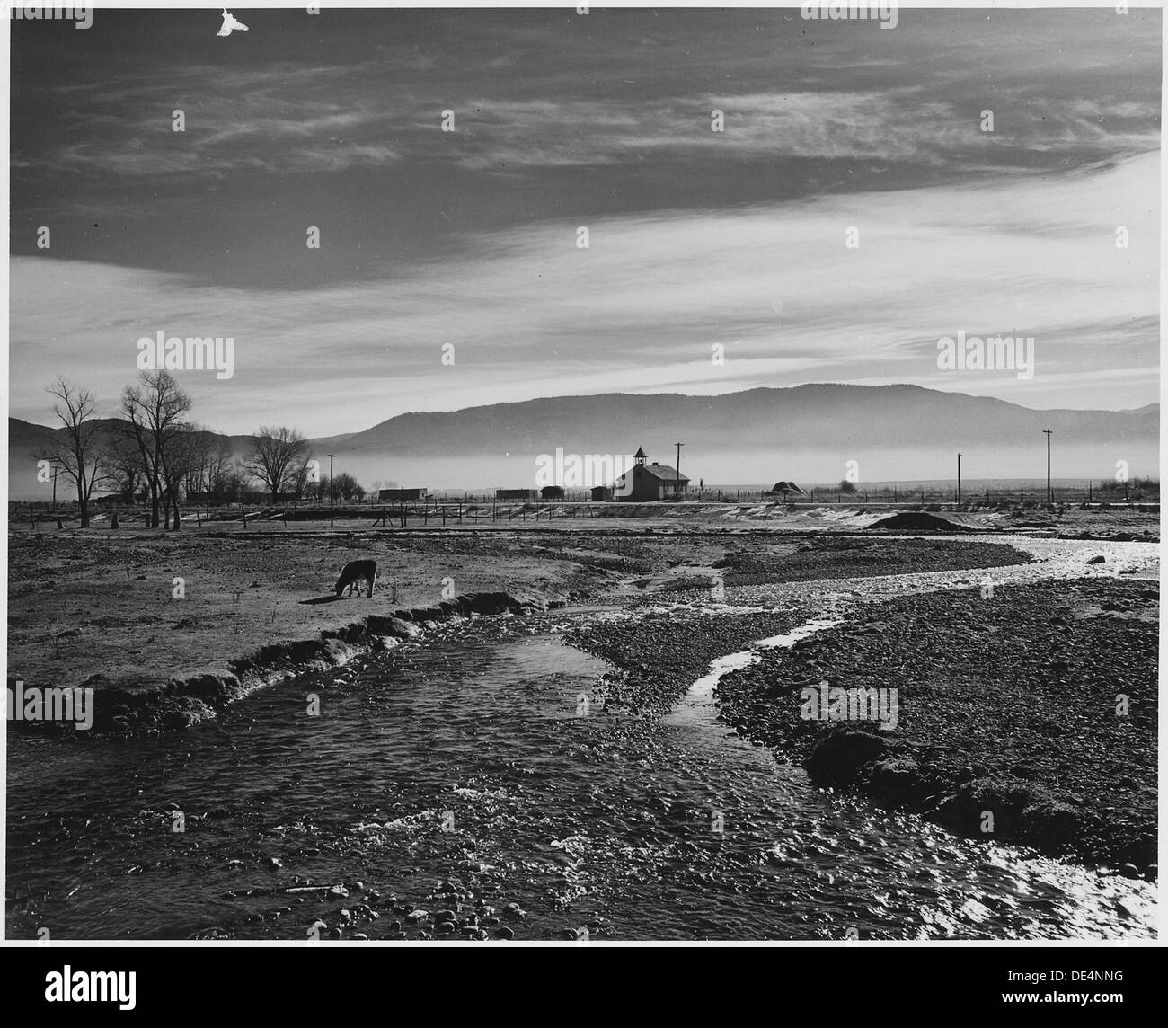 New mexico taos county carson - Stock Photo Taos County New Mexico The Rio Pueblo De Taos Mist In Taos Valley In The A M 521818