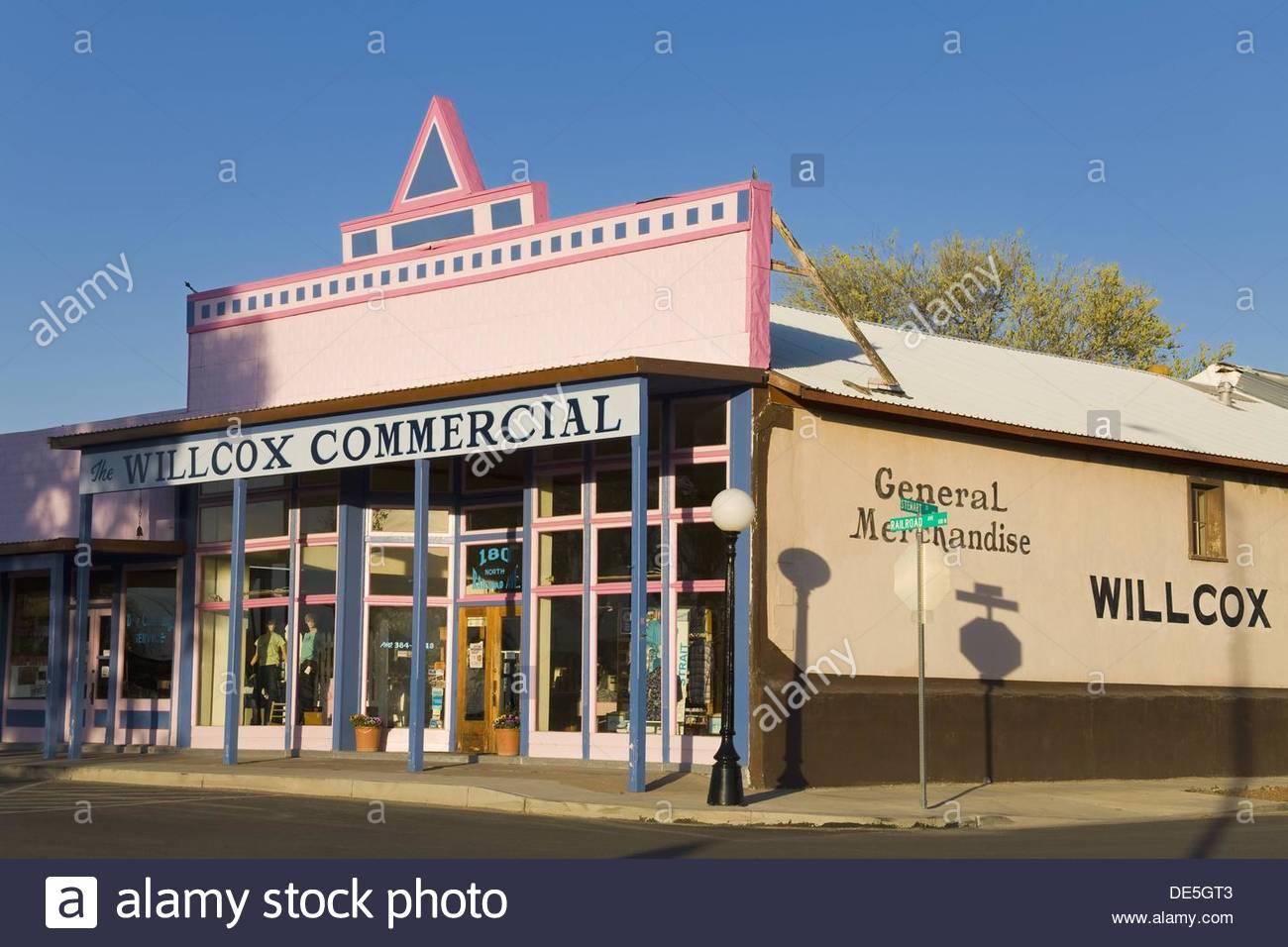Arizona cochise county cochise - Stock Photo Willlcox Cochise County Arizona Usa