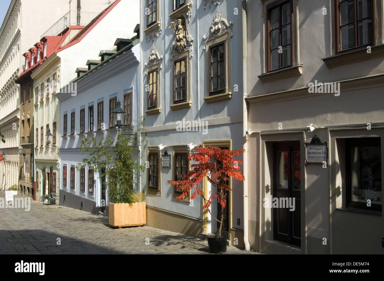 Haus Fassaden österreich wien 7 neubau schöne hausfassaden am spittelberg stock