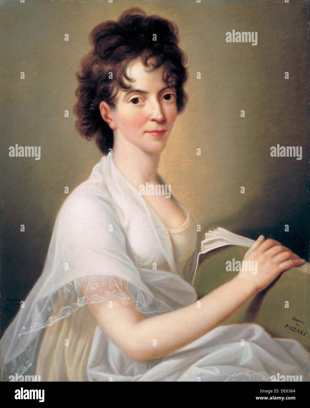 Constanze Mozart Nã©e Weber (1763–1842), W.a. Mozart's Wife ...