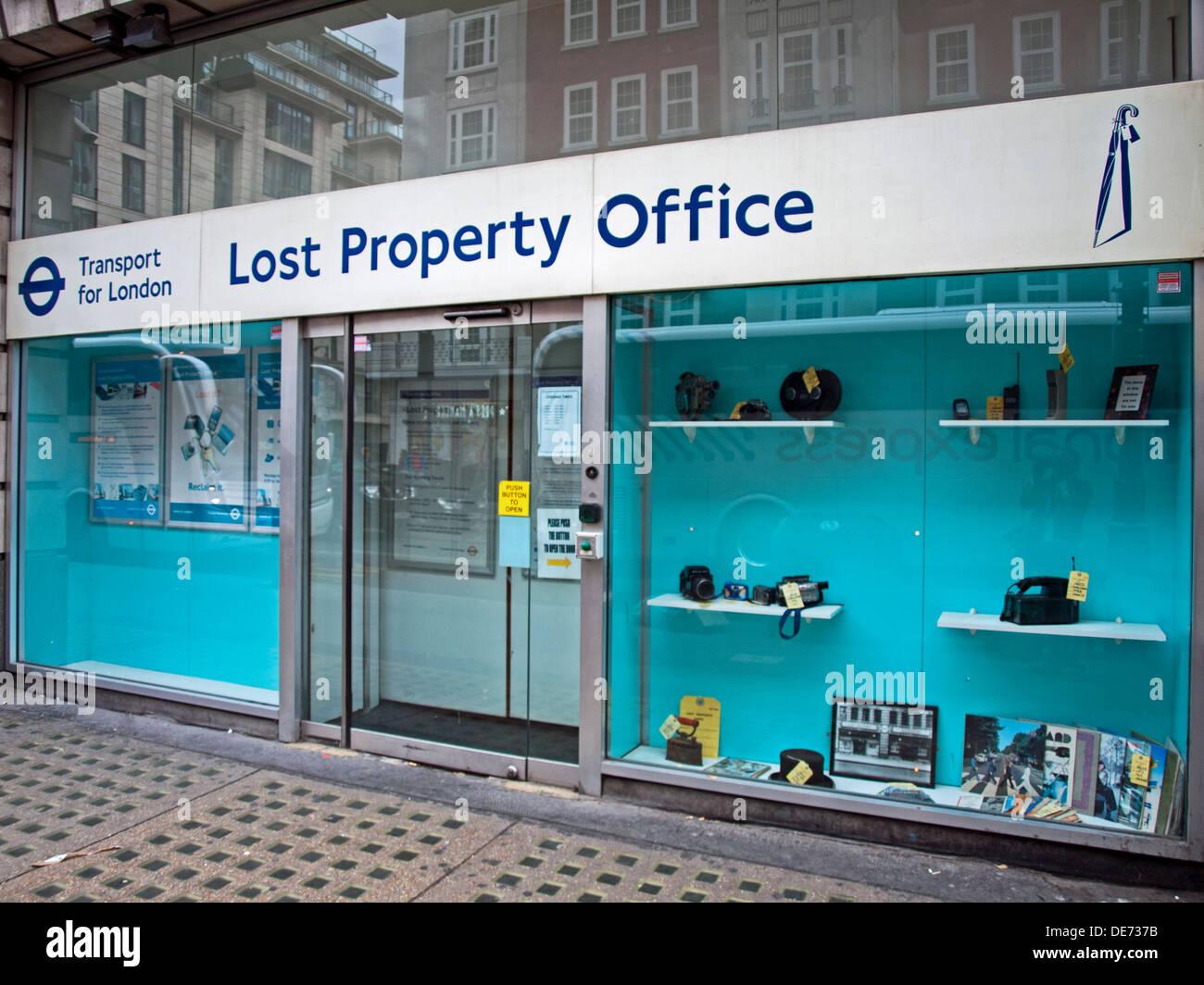 Transport for London Lost Property Office, Baker Street ...