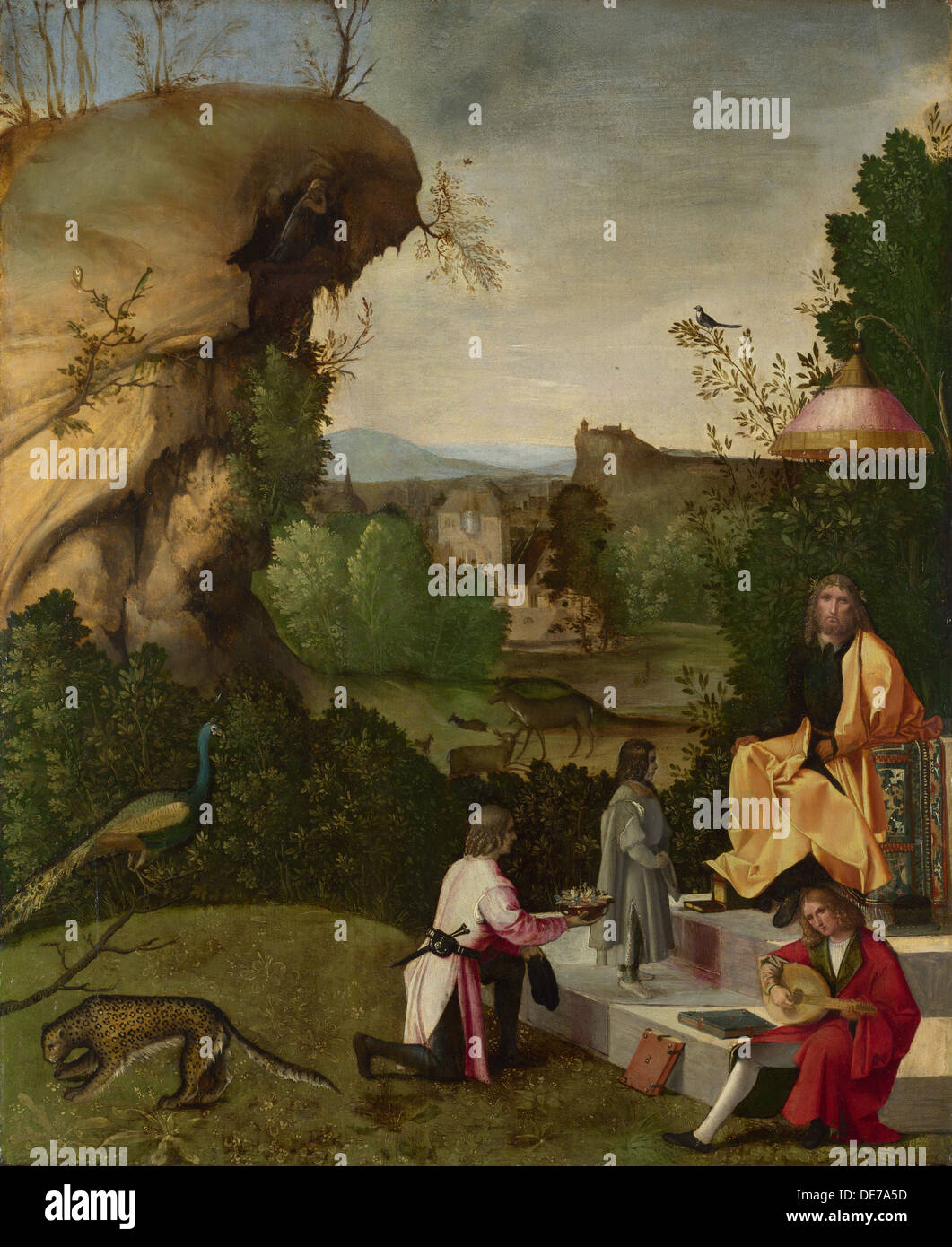 list of synonyms and antonyms of the word giorgione paintings
