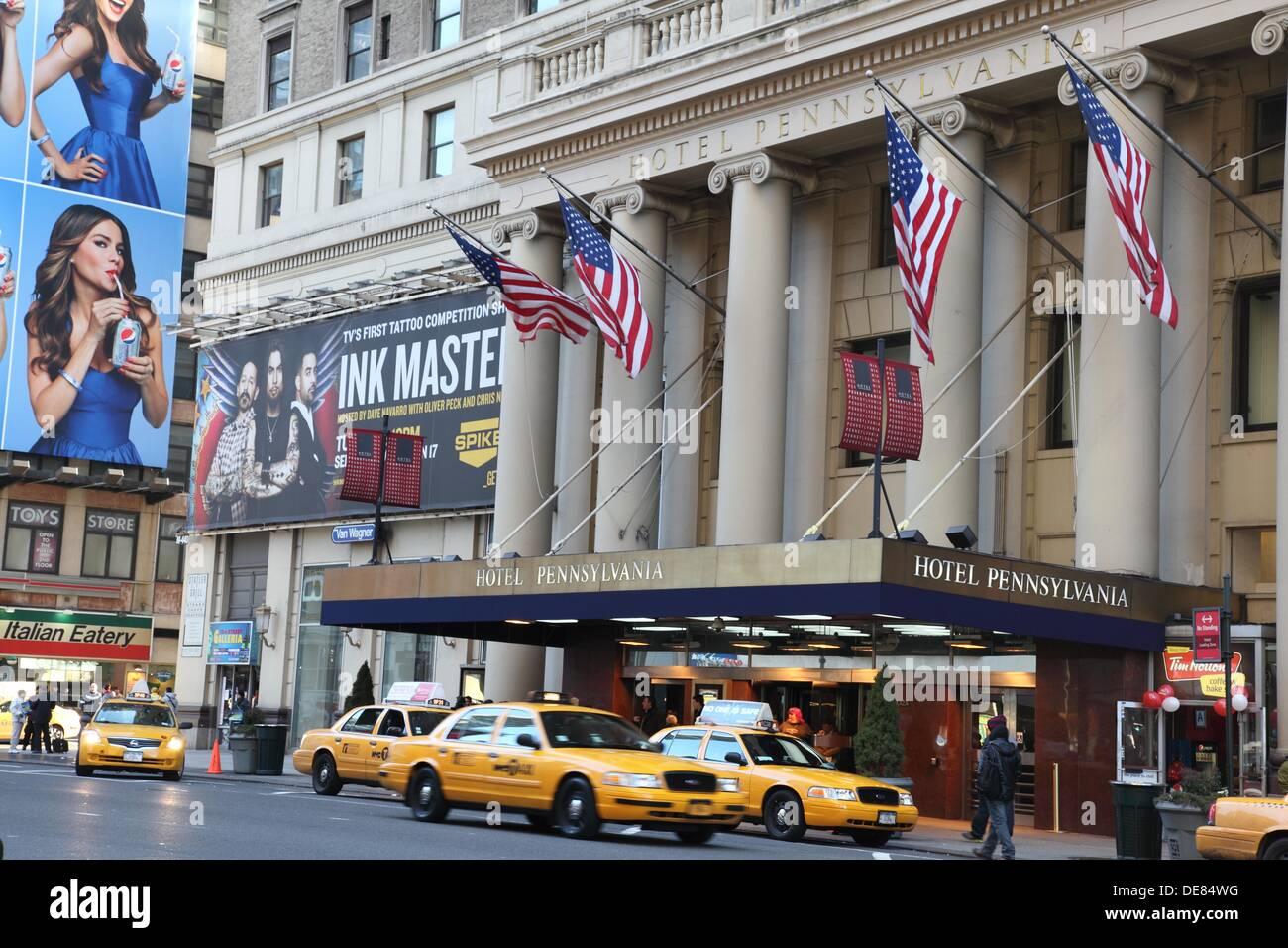 Hotel Pennsylvania Th Avenue New York