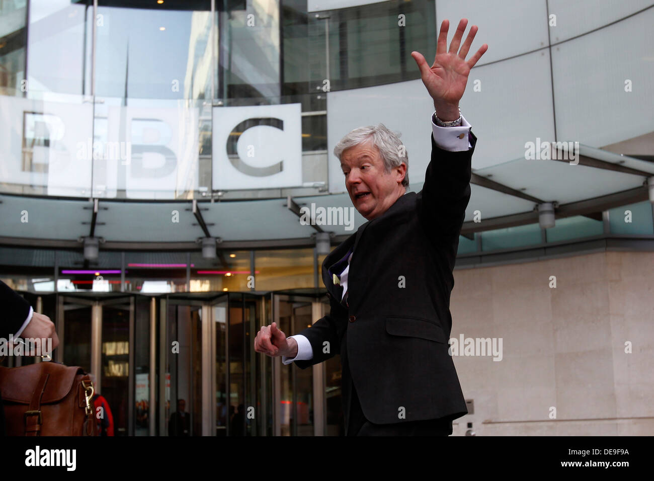 new bbc boss tony hall arrives to bbc broadcasting house for his new bbc boss tony hall arrives to bbc broadcasting house for his first day work at the corporation in central london britain 02