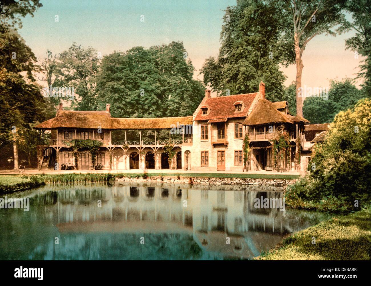 Petit Trianon Park Maison Du Seigneur Versailles France
