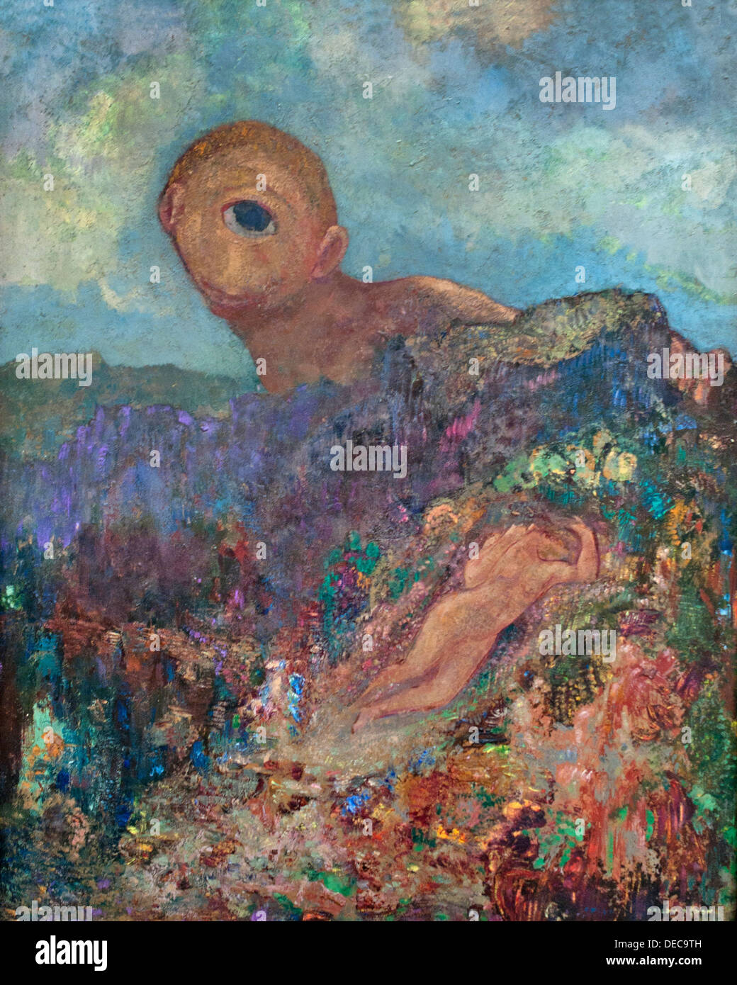 The Cyclops 1914 Odilon Redon 1840-1916 France French Stock Photo ...