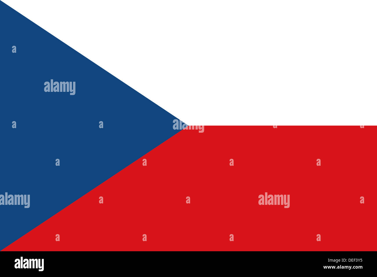 Flag of the Czech Republic - Proportions: 3:2 - Colours ... - photo#10