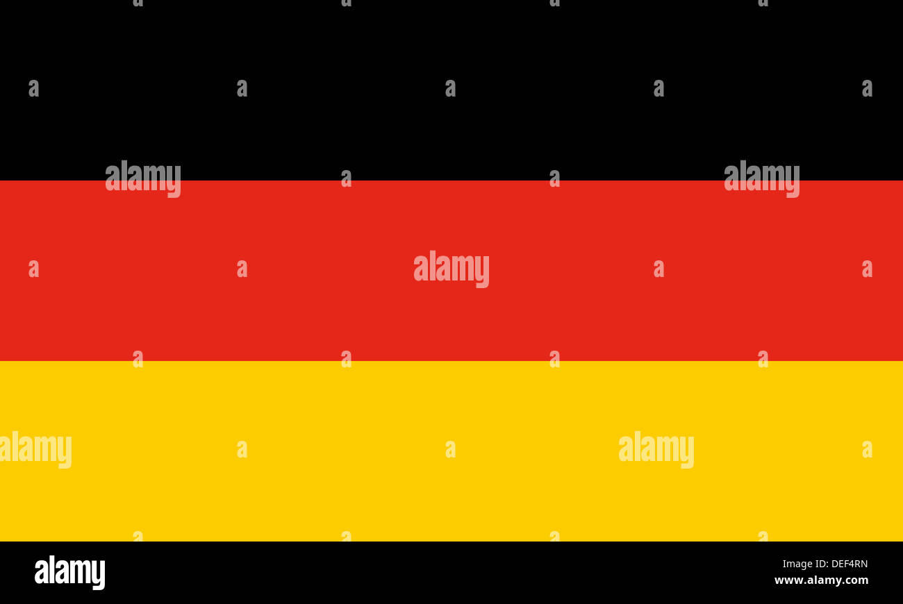 Official German flag of Germany aka Bundesflagge  Proportions 5