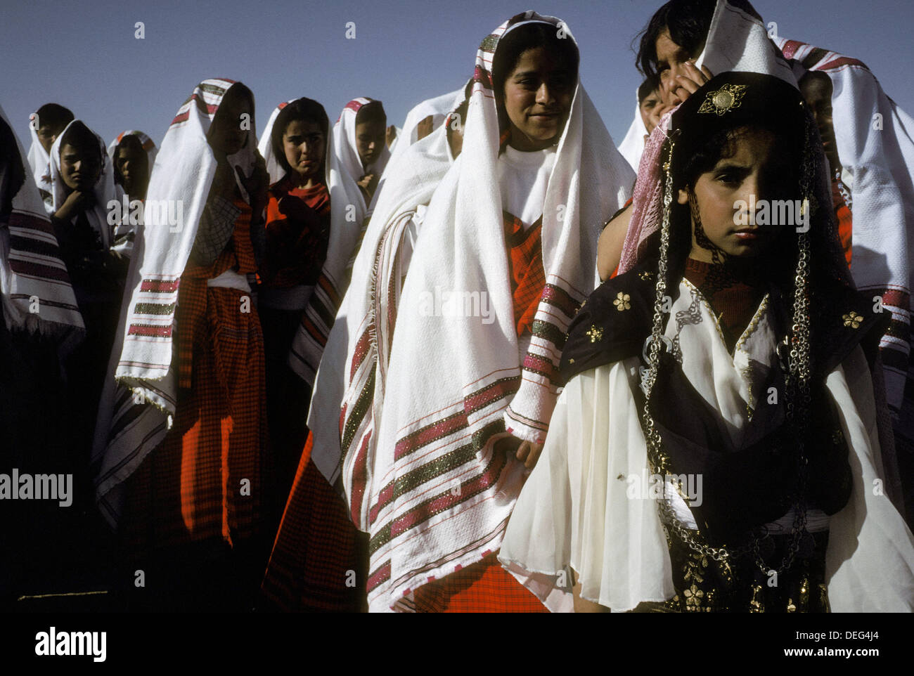 Bedouin Wedding Ceremony Tataouine South Oasis Tunisia