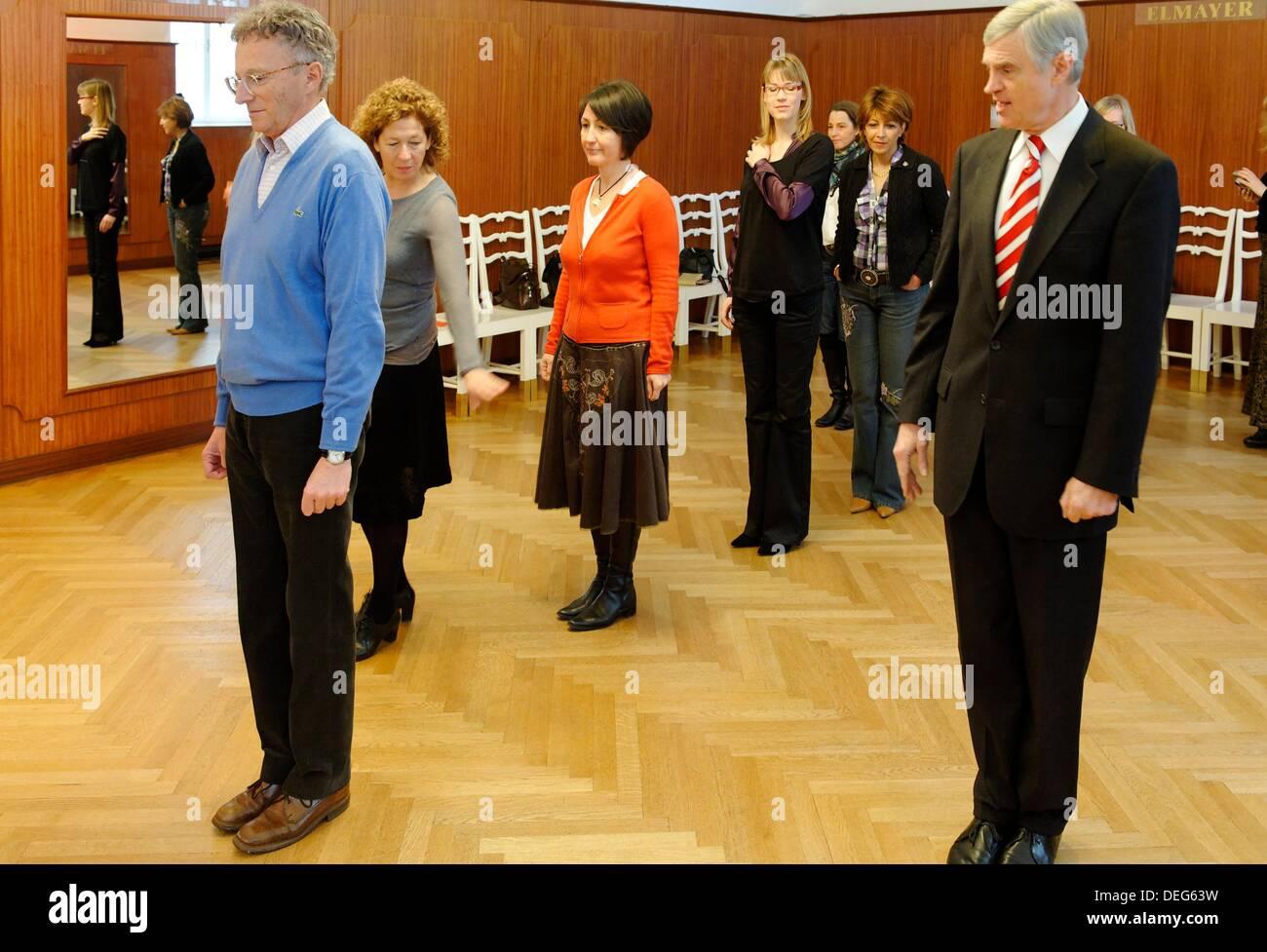 Thomas Schäfer-Elmayer dancing teacher and director of the Dancing ...