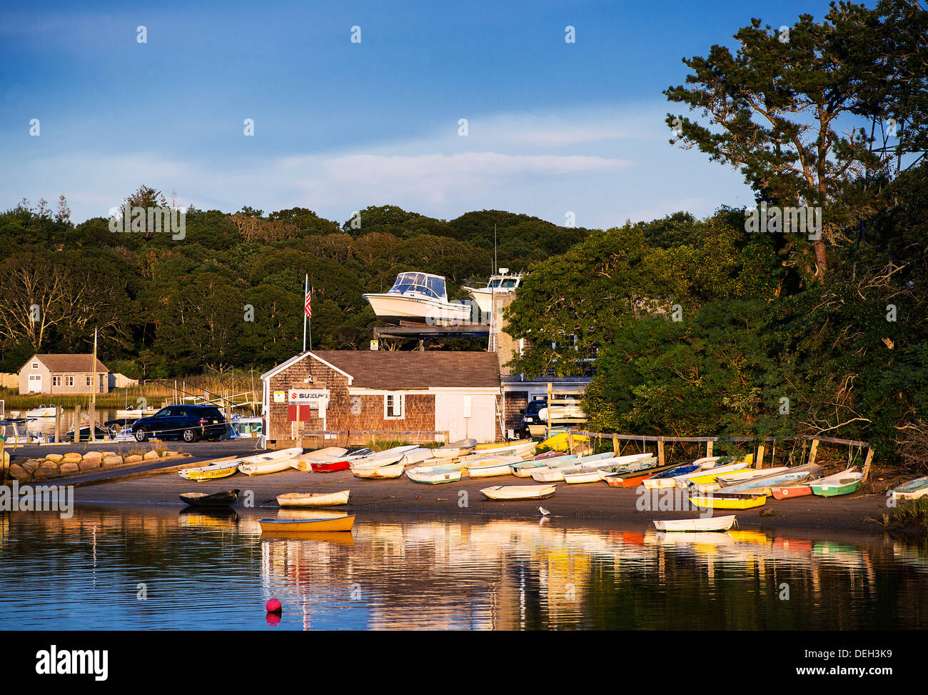 Ryders Cove Boat Yard Chatham Cape Cod Massachusetts