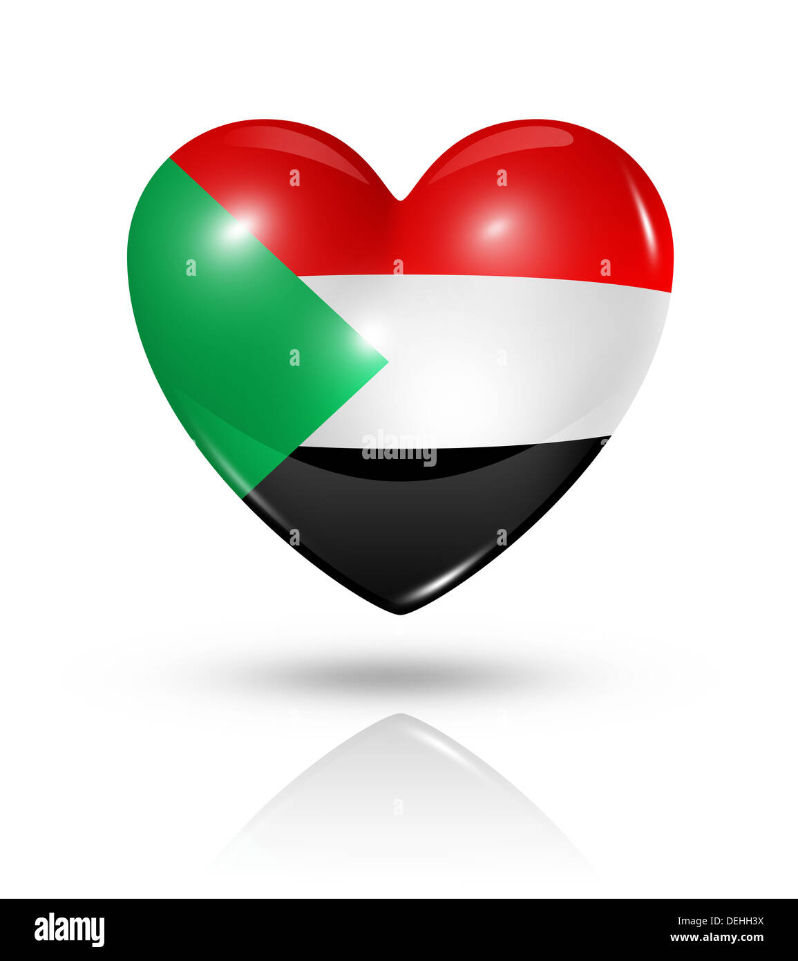 Love sudan symbol 3d heart flag icon isolated on white with love sudan symbol 3d heart flag icon isolated on white with clipping path buycottarizona Images