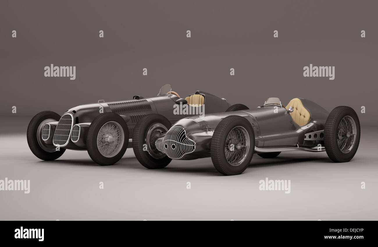 Super old racing cars Stock Photo: 60641610 - Alamy