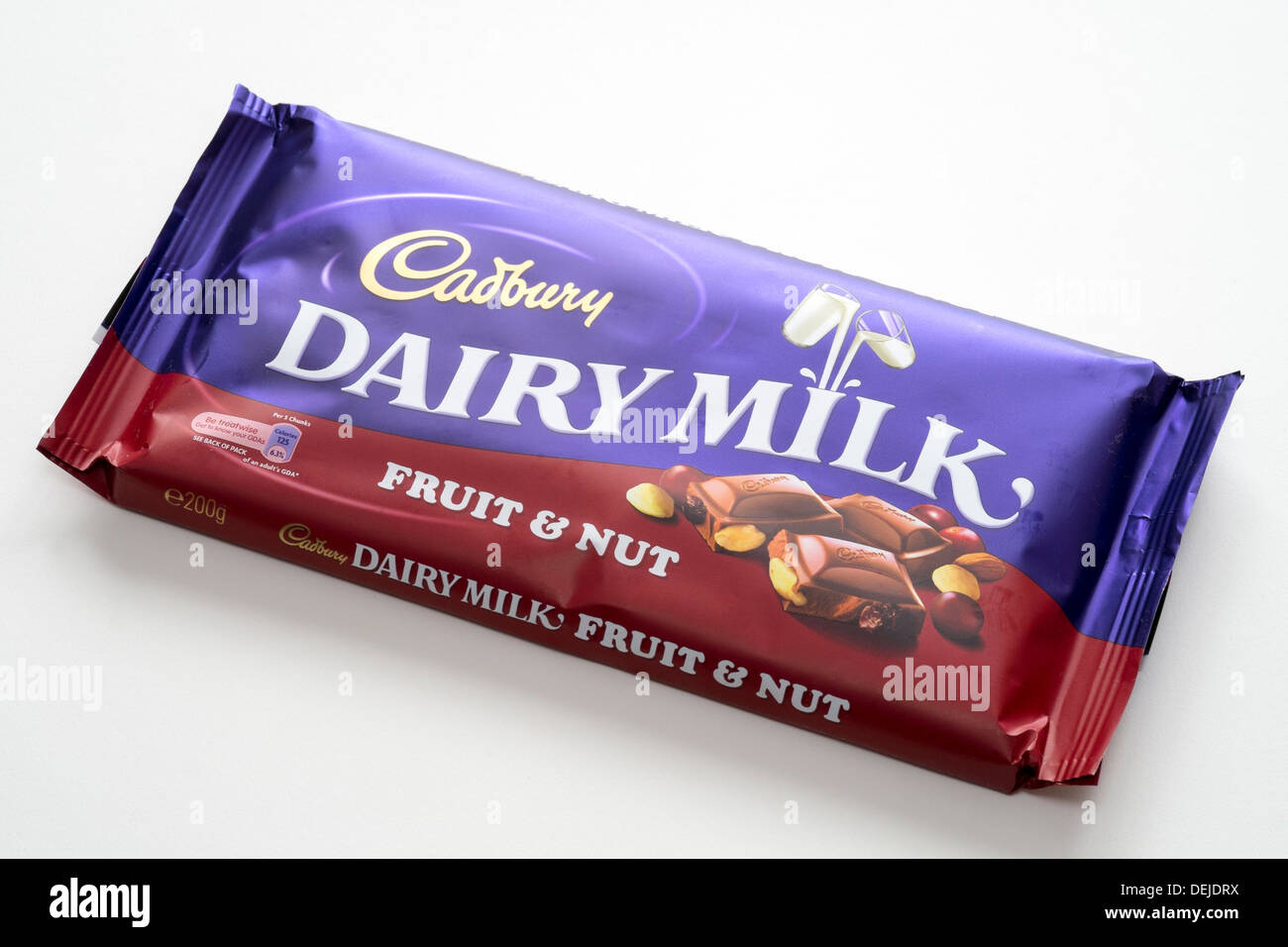 Cadbury Chocolate Bar Wrapper Stock Photos & Cadbury Chocolate Bar ...