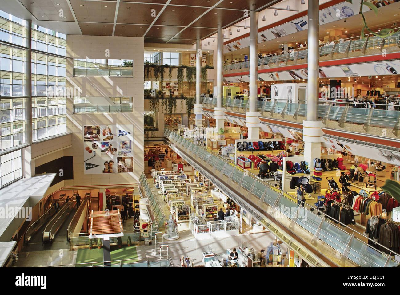 Spain malaga el corte ingles department store at mijas costa stock photo royalty free - El corte ingles stores ...