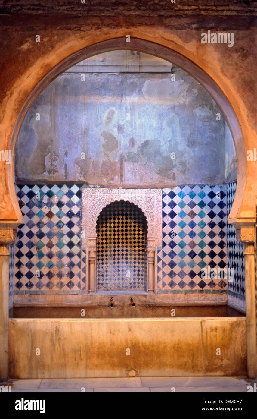 Royal baths palacio de comares alhambra granada - Banos arabes palacio de comares ...