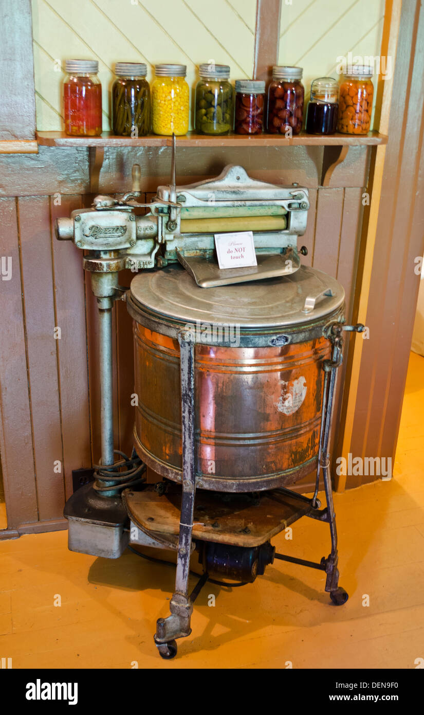 1920 Electric Washing Machine ~ Vintage beatty washing machine from the s stock photo