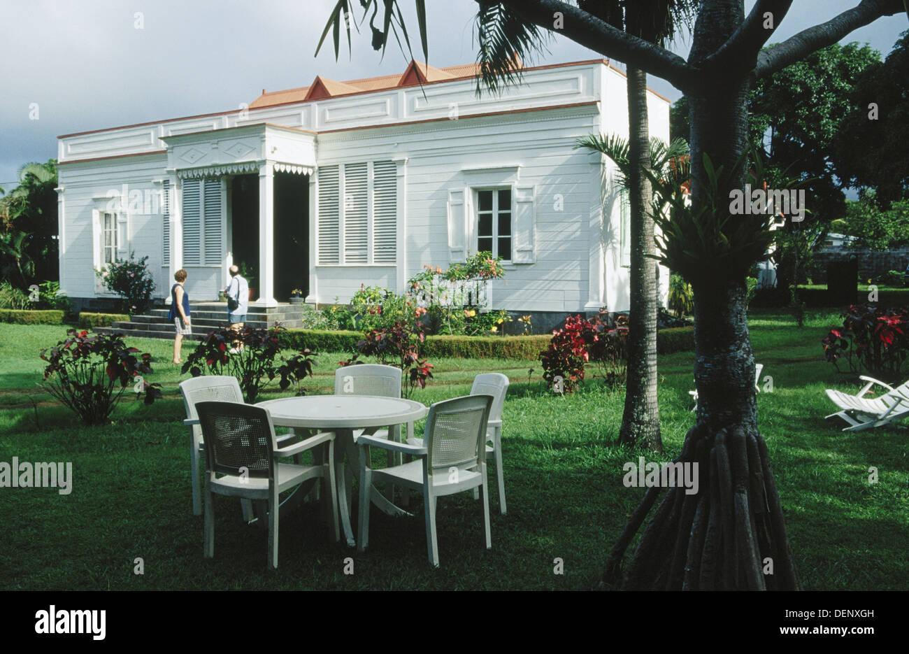 Maison de la vanille in saint andre la reunion island for Andre maurois la maison