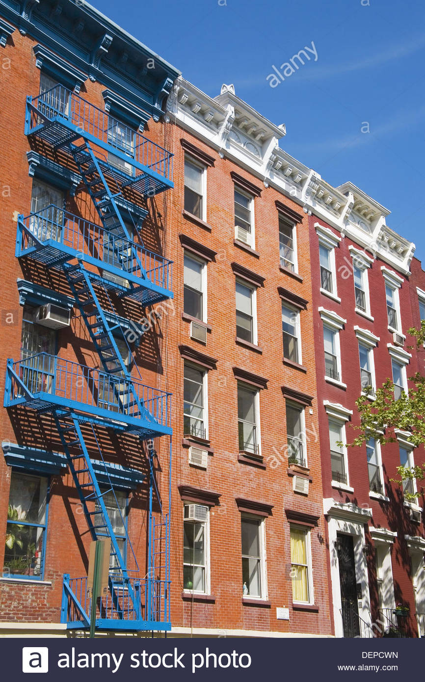 Apartments In Alphabet City, East Village, Downtown Manhattan, New York  City, New York, USA