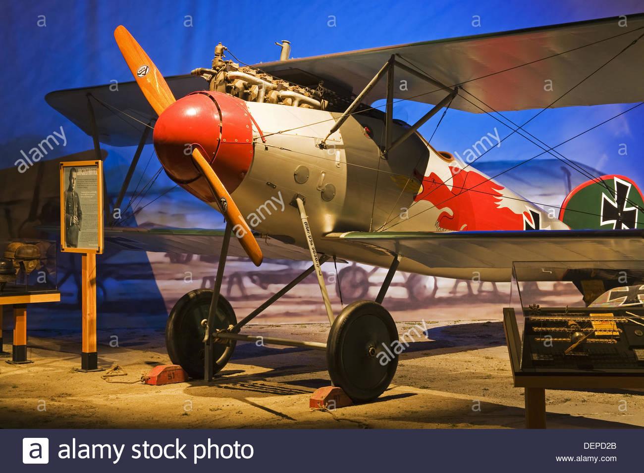 German Albatross D Va Aircraft Museum Of Flight Seattle - German museums in usa