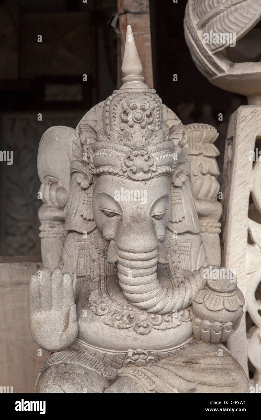 Religious stone carving sculpture statue bali asia