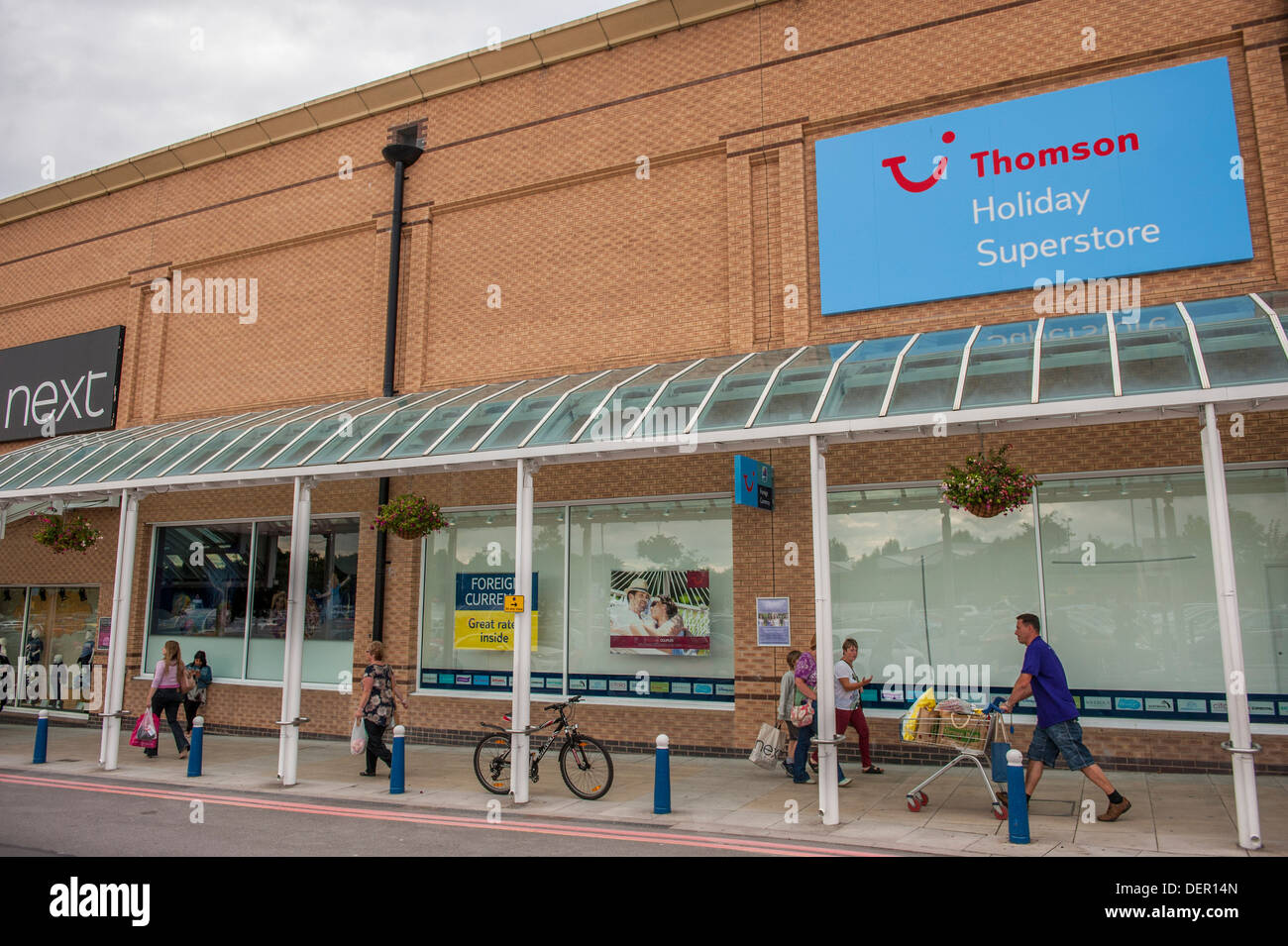 Newly Re Designed Thomas Cook Holiday Superstore Beaumont