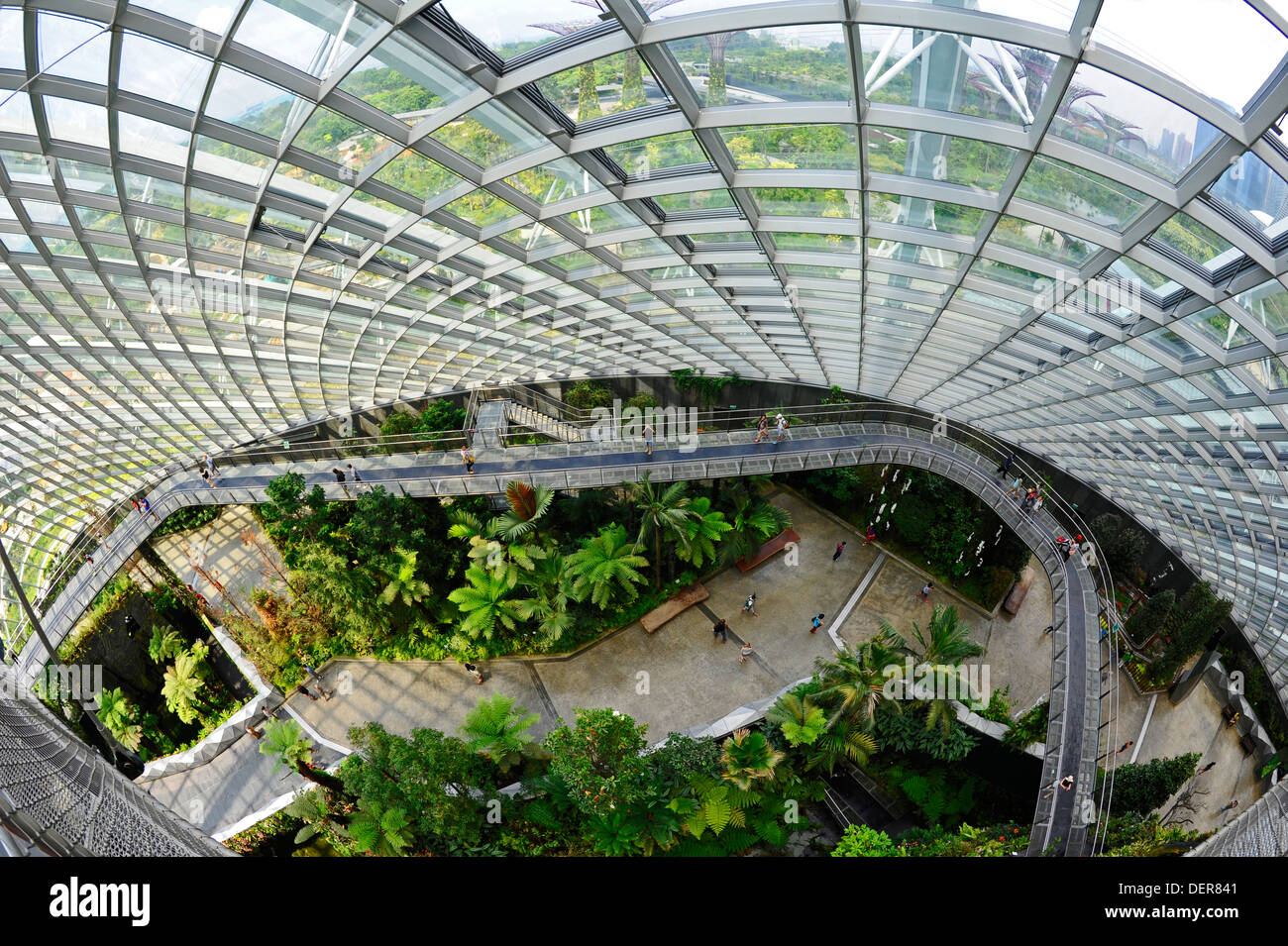 Indoor garten in singapur