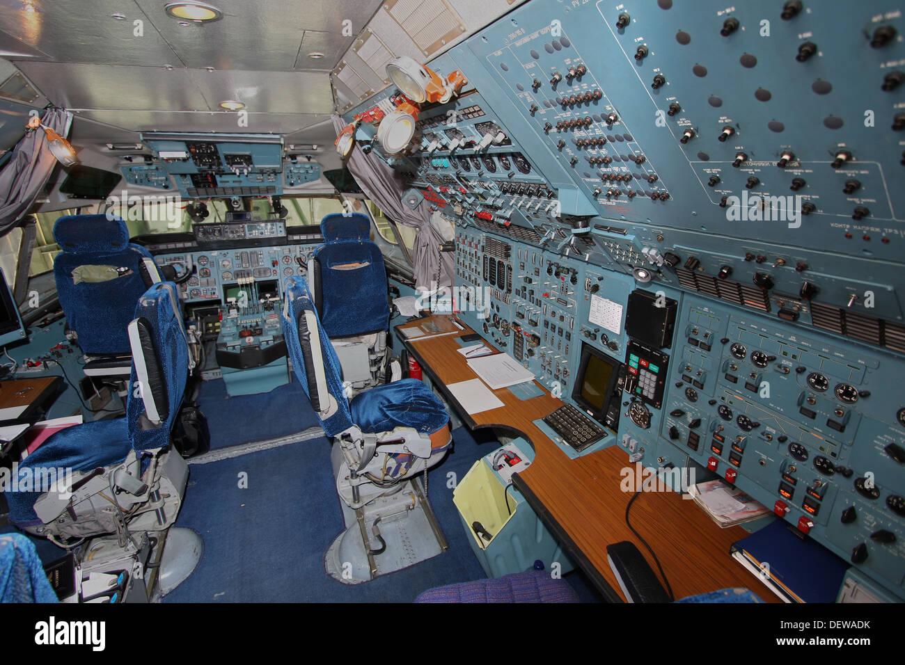 Cargo plane interior