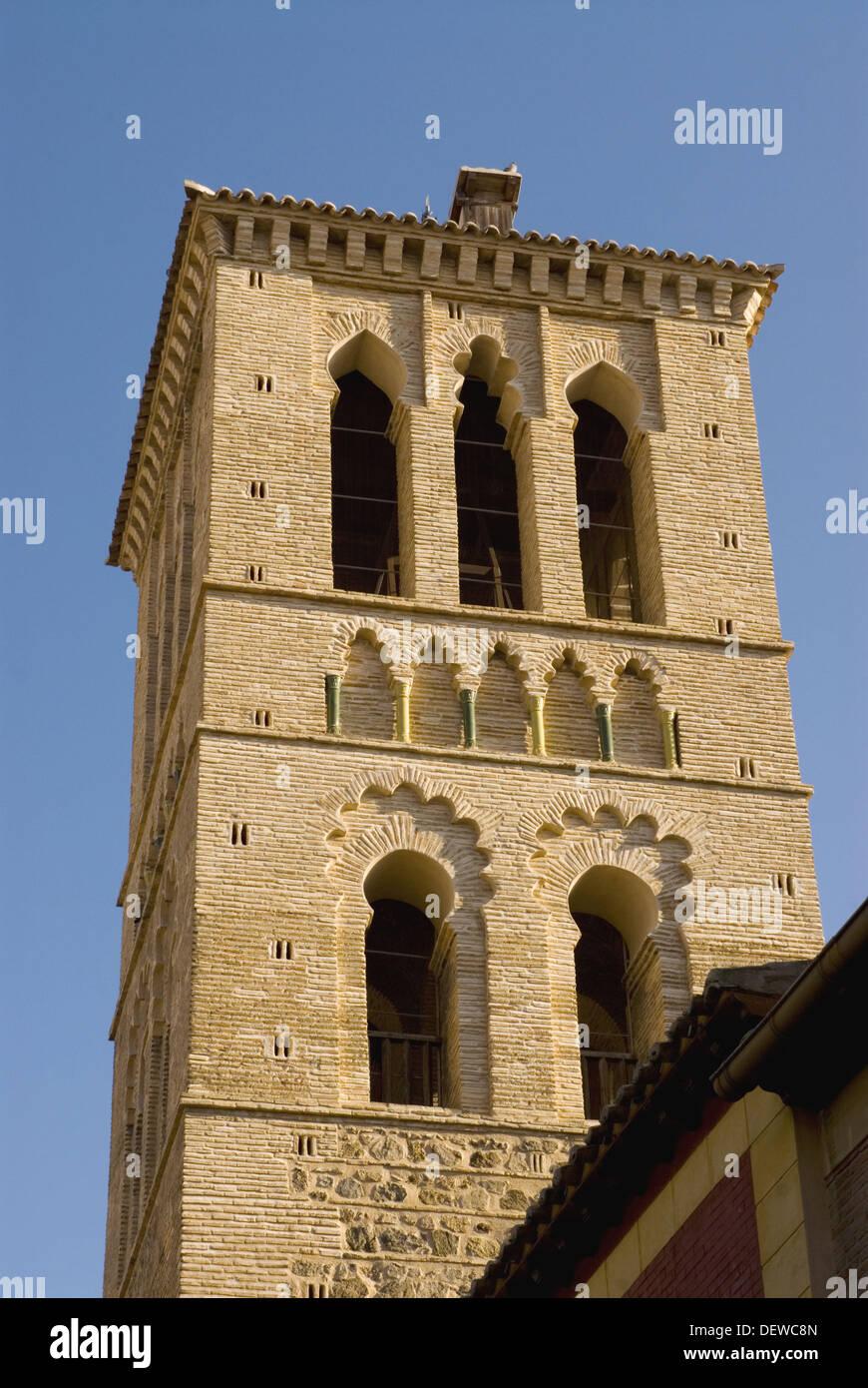 Torre Mudejar Iglesia Santo Tomé. Toledo. Ruta de Don ...