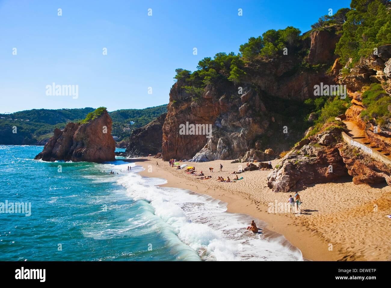 63 >> Illa Roja nudist beach, Begur, Baix Emporda, Costa Brava, Girona Stock Photo, Royalty Free Image ...