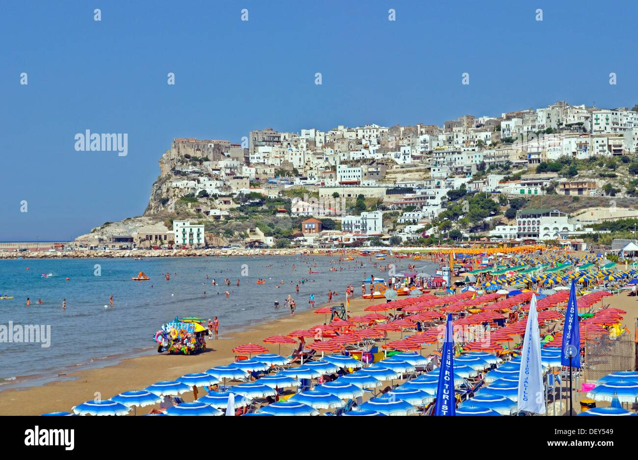 Peschici Italy  city photos gallery : Peschici, Puglia, Italy Stock Photo, Royalty Free Image: 60833033 ...