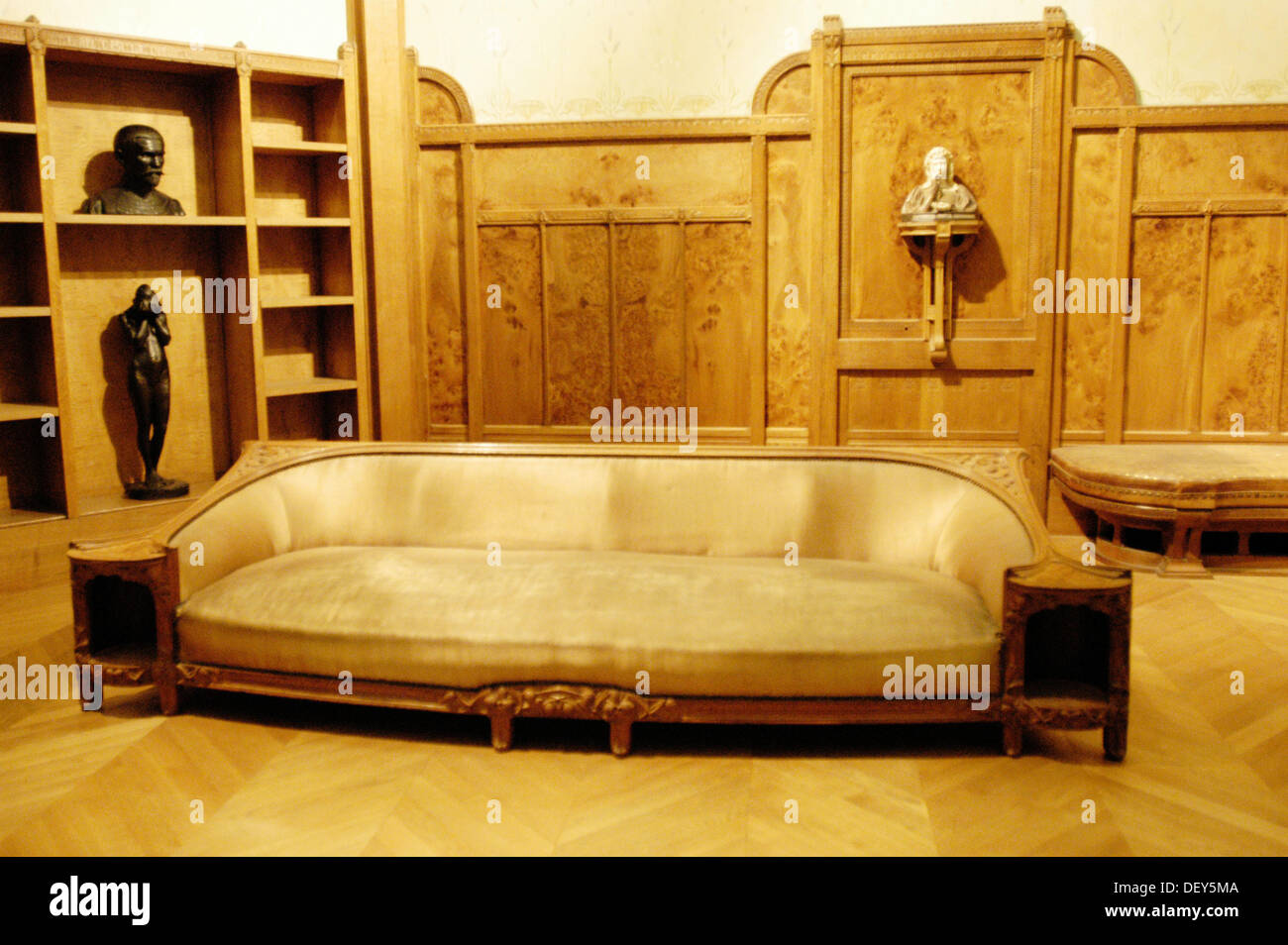 Art nouveau style furniture - Art Nouveau Style Furniture Orsay Museum Paris France Stock Image