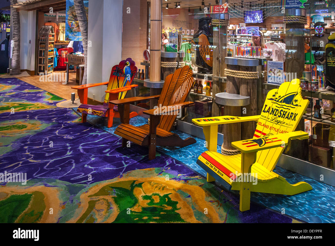 Adirondack Style Wooden Chairs For Sale At Jimmy Buffettu0027s Margaritaville  Casino And Restaurant In Biloxi, MS