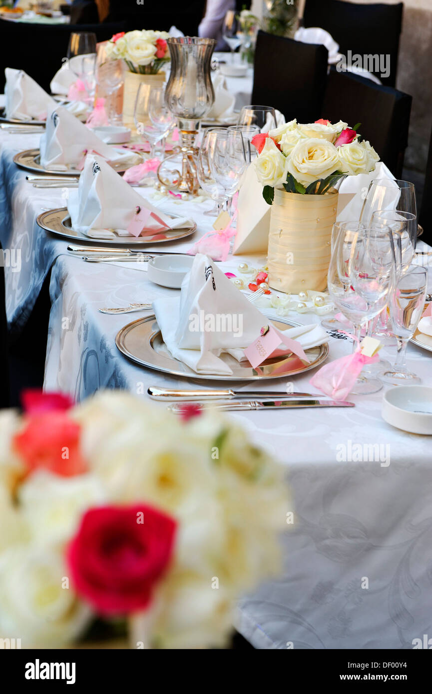 Decorated Tables Wedding Wedding Table Decorated Tables Restaurant Ristorante