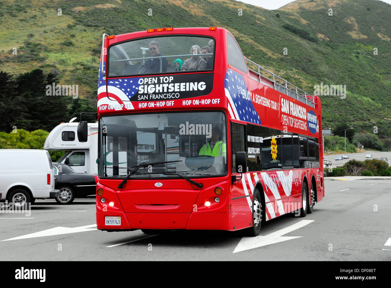 City Tour Sightseeing Bus San Francisco California USA North - Bus tours usa