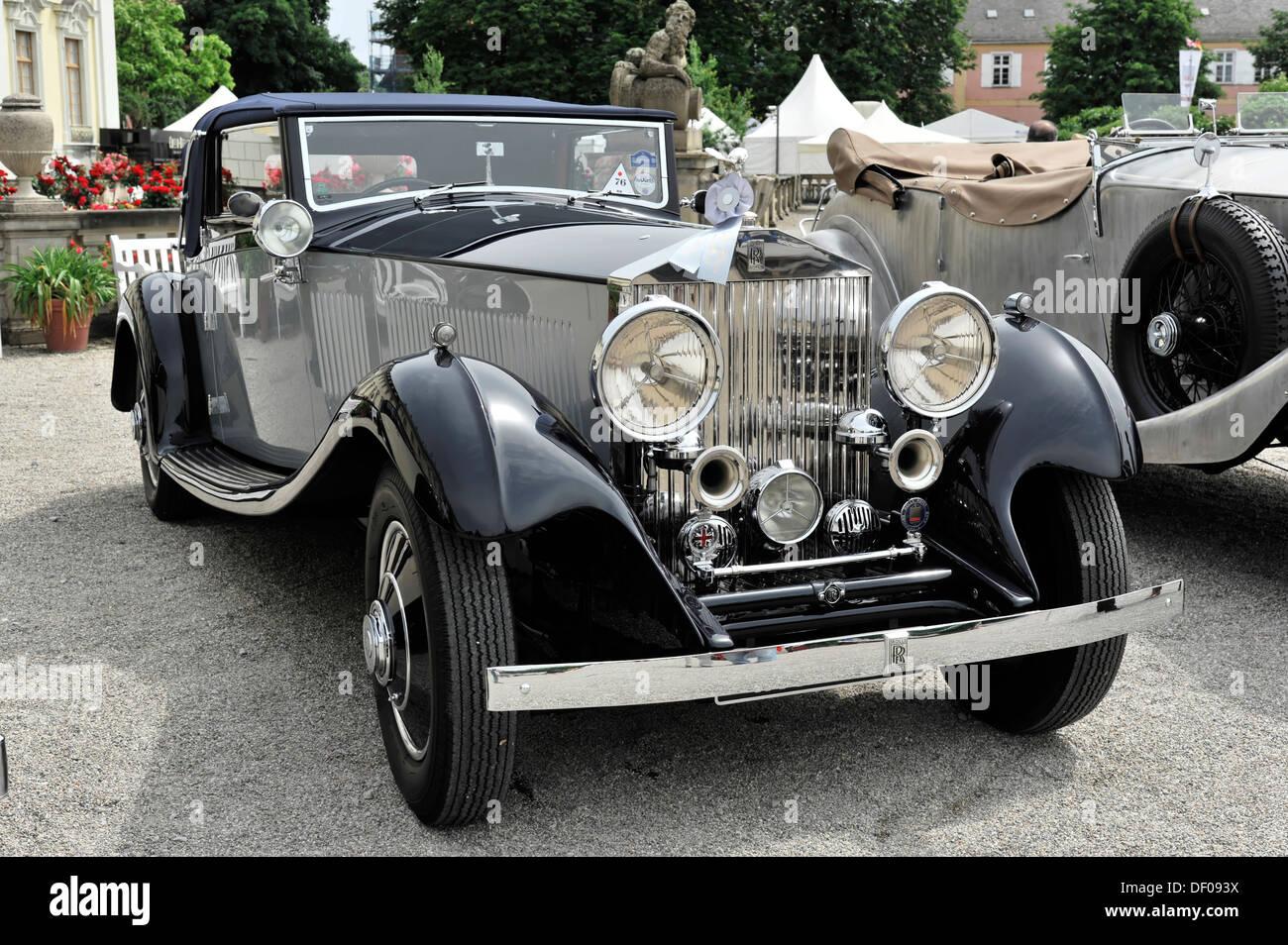 Rolls-Royce Phantom II Gurney Nutting, built in 1933, classic car ...