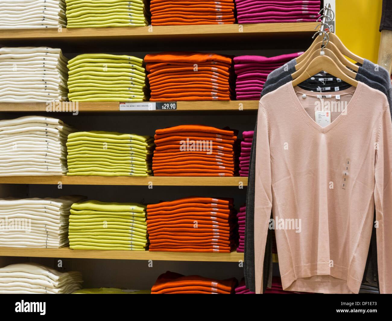 Uni clothing store