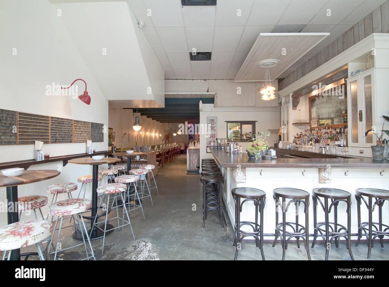 Restaurant Design Vancouver Bc : Bao bei restaurant interior vancouver bc canada stock