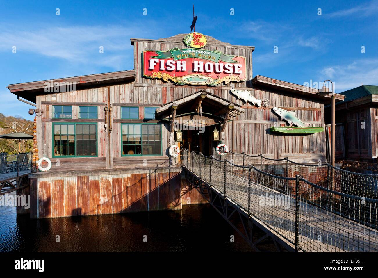 the fish house restaurant at the branson landing shopping