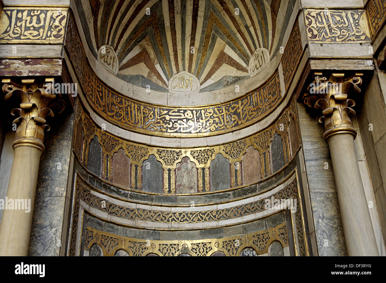 Stock Photo   The Mosque And Madrasa Of Sultan Hassan Founded (1356) By Sultan  Hassan, The Son Of The Great Mamluk Sultan, Al Nasser Mohamed
