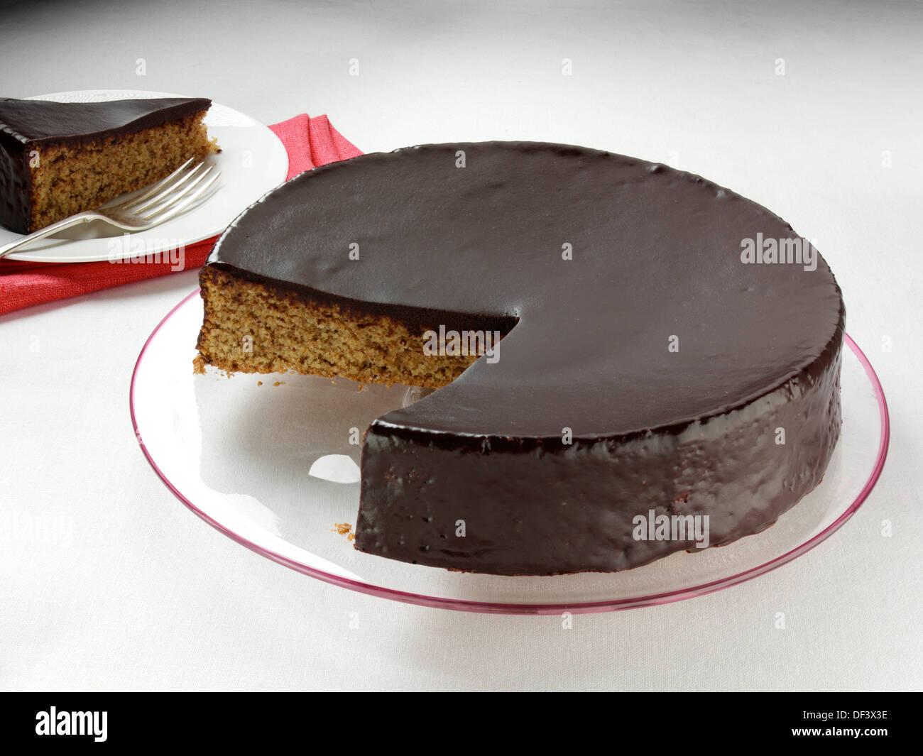Toasted-Hazelnut Cake Recipe — Dishmaps