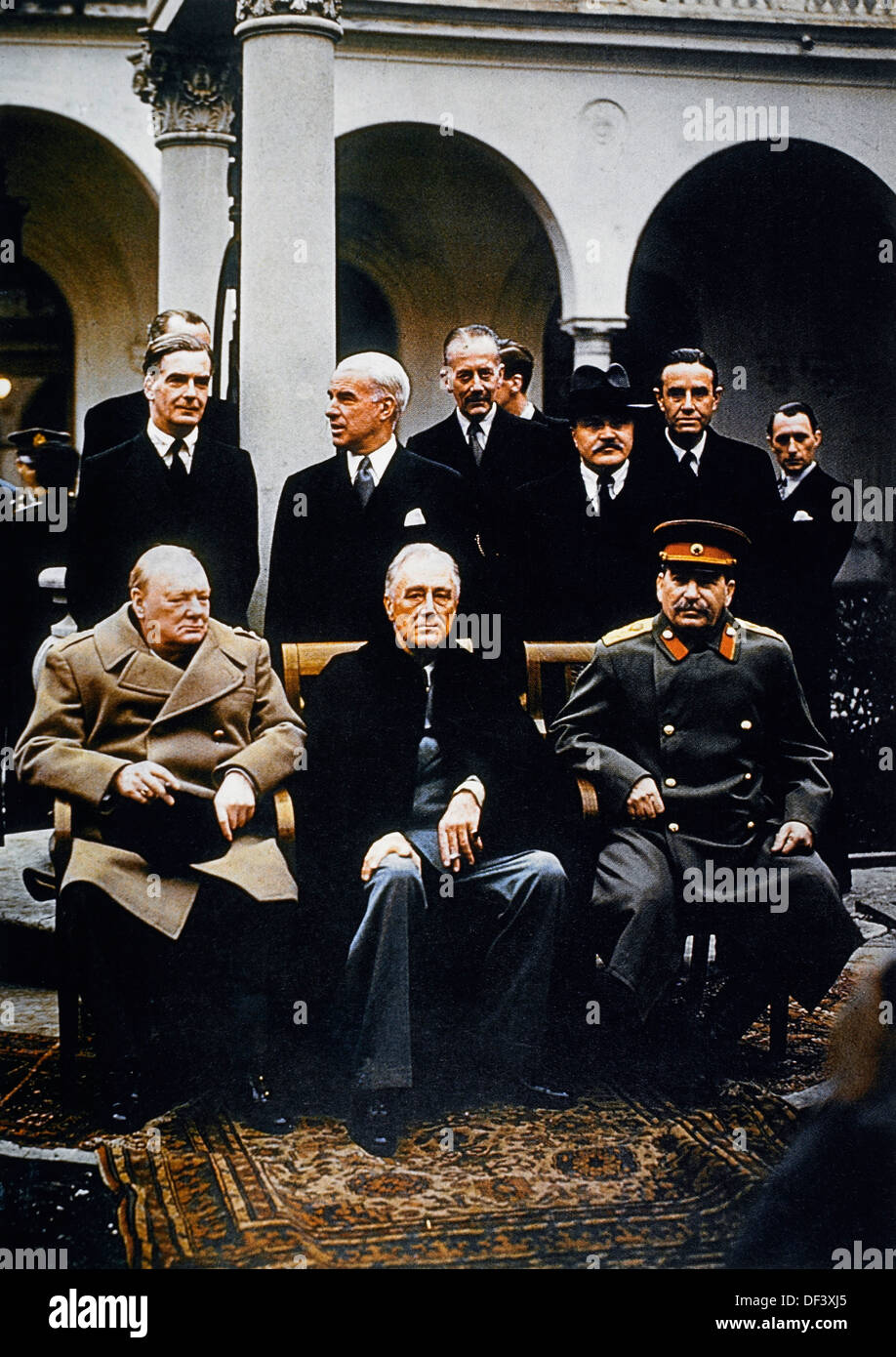 conference of yalta Yalta conference, (february 4–11, 1945), major world war ii conference of the  three chief allied leaders, pres franklin d roosevelt of the united states, prime .