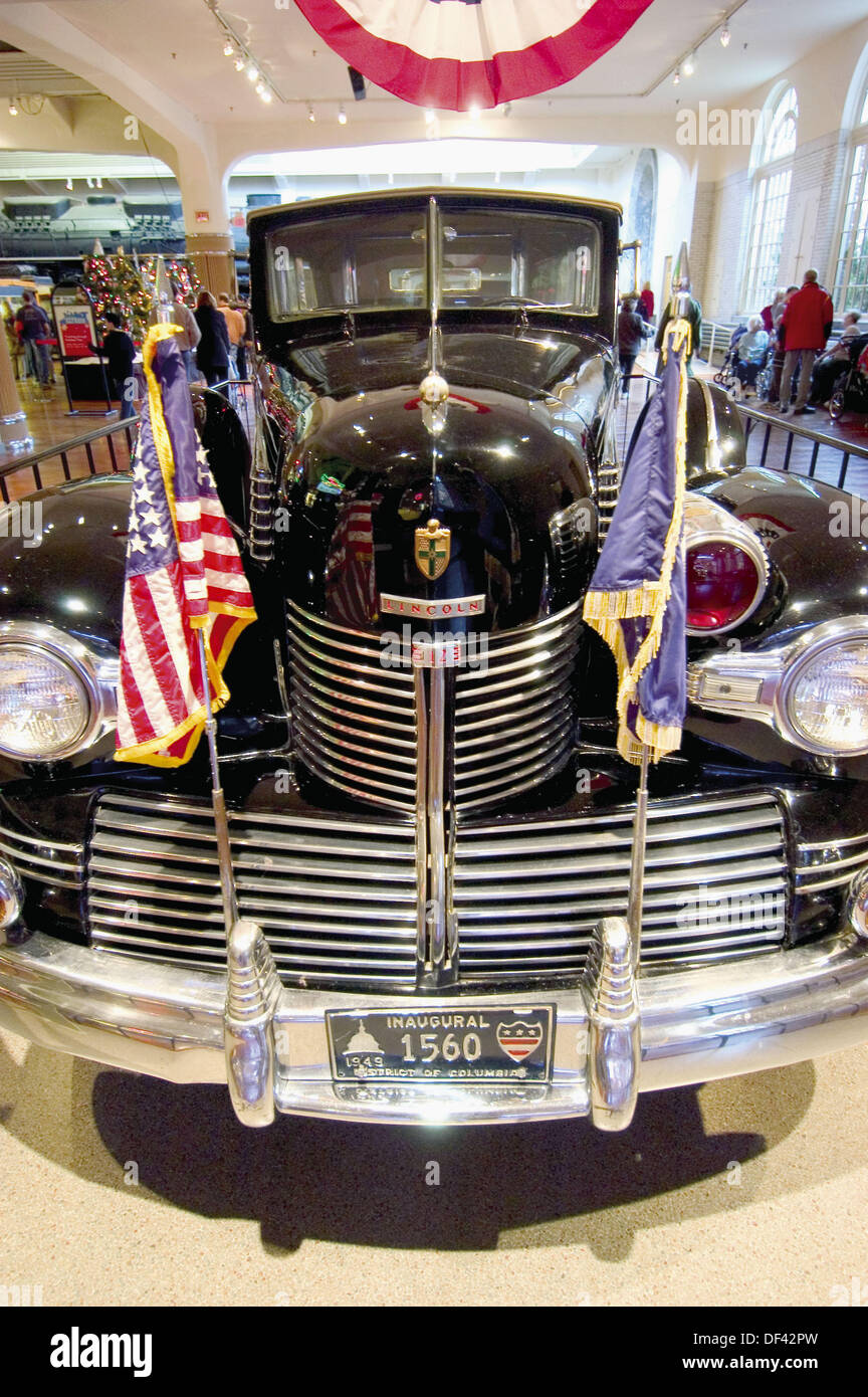 Dwight D Eisenhower Presidential limousine Henry Ford Museum